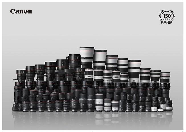 150 millons lenses