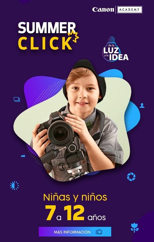 Summer Click Virtual - Canon